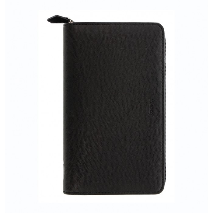 Organiseur Saffiano Zip - Personal Compact Black 2021